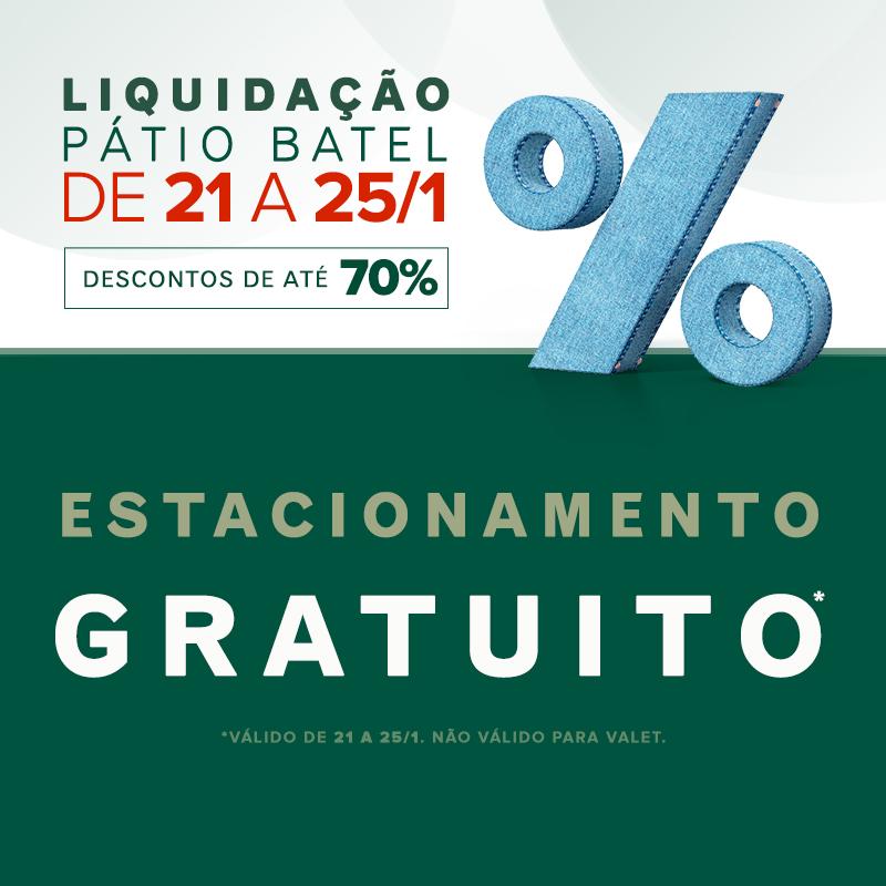 LIQUIDAÇÃO PÁTIO BATEL - FLOATER
